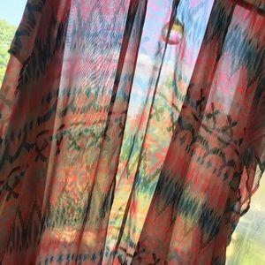 Pink OP lightweight kimono